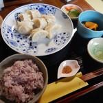 山形水餃子 みどりのしづく - ランチ(7個セット)