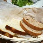 イタリア料理 小西屋 - パン(二人分)