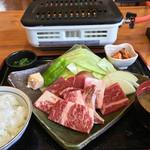 北里バラン - 焼肉定食(ご飯おかわりok) 1780円