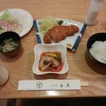 白扇 - 料理写真:味豚定食 1080円