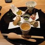 Sagasawakan - 食前酒・前菜