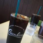 63827758 - 170205日 沖縄 ハワイアンパンケーキハウスパニラニ アイスコーヒー