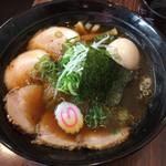 夢限 - 料理写真:醤油チャーシュー(煮玉子入り)