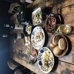 ドットキッチンアンドバー - 春のおすすめコースメニューの一例