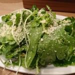 馬肉バル プニー - 春菊サラダ
