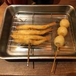 揚旬 - 串揚げ2種