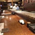魚匠 銀平本店 - カウンター
