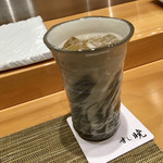すし暁 - 加賀梅酒ソーダ割