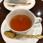 コーヒープラザ 壹番館 - ケーキセット(紅茶&チョコケーキ)1.150円