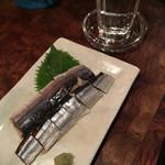 手作りの店 ごはん天晴 - 秋刀魚 酢〆