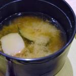 四六時中 - 味噌汁(海の彩りおひつごはん)