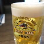 飛騨牛焼肉・韓国料理 丸明 - キリン一番搾り 生ビール 中