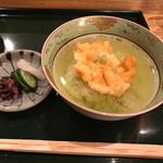 天ぷら 島家 - 天ぷら茶漬け