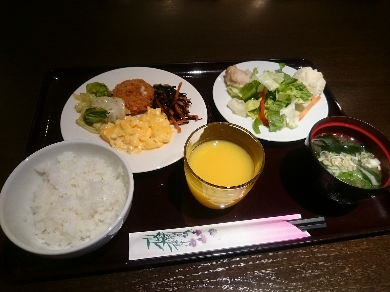 ホテルウィングインターナショナル新宿 朝食会場