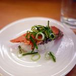 かっぱ寿司 - たたき紅鮭漬け炙り~☆