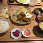 七色食堂 - ばかうま南蛮定食DX