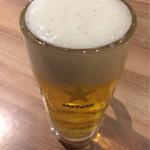 七色食堂 - 生ビール