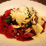 オステリアラブラ - 牛肉のカルパッチョ