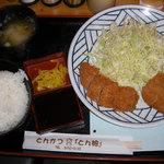 6384730 - ヒレカツ定食780円