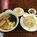 中国料理 珍味楼 - ラーメン・半炒飯セット