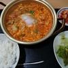 おやじとオモニの家 - 料理写真:スンドゥブチゲ¥850