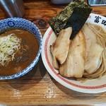 松戸中華そば 富田食堂 - 【2017/3】特製濃厚そば