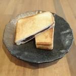 Cafe らんど - 小倉ホットサンド