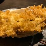 下町天丼 秋光 - 牡蠣の天ぷら