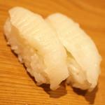 雛鮨 - 高級寿司食べ放題(3,990円+税)の『えんがわ』2017年3月
