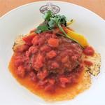 シルバニア森のキッチン - 完熟トマトのハンバーグ