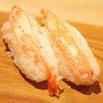 雛鮨 - 高級寿司食べ放題(3,990円+税)の『かに』2017年3月