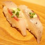 雛鮨 - 高級寿司食べ放題(3,990円+税)の『とびうお』2017年3月