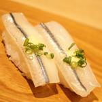 雛鮨 - 高級寿司食べ放題(3,990円+税)の『さより』2017年3月