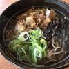 山のそば うどん - 料理写真:イノシシそば(900円)