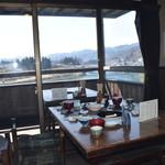 ジンギスカン料理 ろうかく荘 - 犀川の眺め