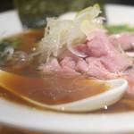 麺処 篠はら - スープは動物系に真鯛+貝類出汁