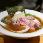 麺処 篠はら - 特製醤油そば(味玉+チャーシュー2枚追加)
