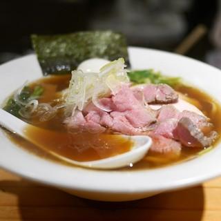 麺処 篠はら - 料理写真:特製醤油そば(味玉+チャーシュー2枚追加)