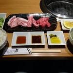 63850851 - 長崎和牛焼肉&ロースステーキランチ 1,580円