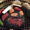 とんとん - 料理写真:焼いてる様子