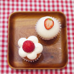 63851545 - 苺のショートケーキ&ダブルベリーチーズケーキ