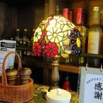 レストラン マ・メゾン 日進竹ノ山店 - テーブル上のランプ