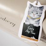 63853690 - Cat's NapTimeタグ付きパンボックス