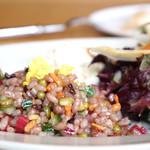 レストラン エイタブリッシュ - グレインズサラダはちらし寿司仕立て
