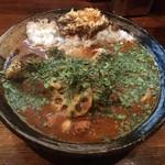 Karenotoriko - サバ味噌あいがけ+野菜