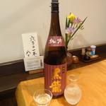 国分寺そば - 黒龍 純吟(日本酒)