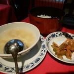 63856365 - スープとご飯