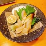 和遊食 肴菜や - みる貝の刺身