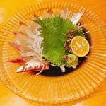 和遊食 肴菜や - シマアジの刺身