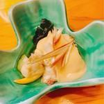 和遊食 肴菜や - ばか貝の酢味噌和え